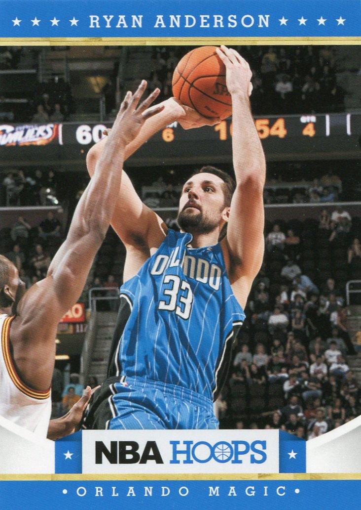 2012 Hoops Basketball Card #169 Ryan Anderson