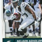2016 Score Football Card #245 Nelson Agholor