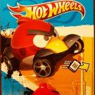2012 Hot Wheels #47 Red Bird Yellow Card