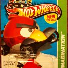 2012 Hot Wheels #47 Red Bird Imagination Card