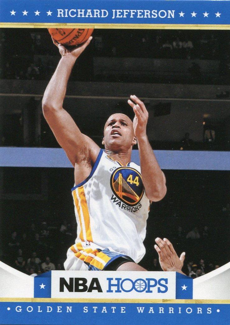 2012 Hoops Basketball Card #185 Richard Jefferson