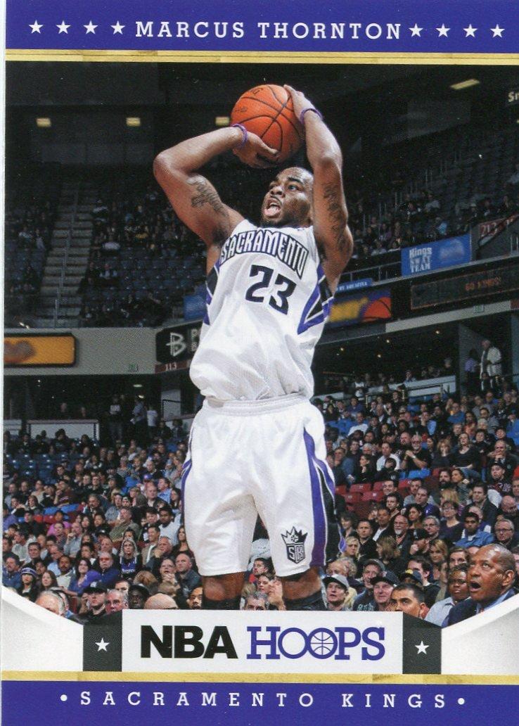2012 Hoops Basketball Card #211 Marcus Thornton