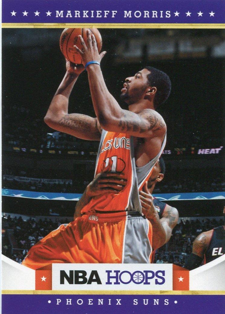 2012 Hoops Basketball Card #234 Markieff Morris