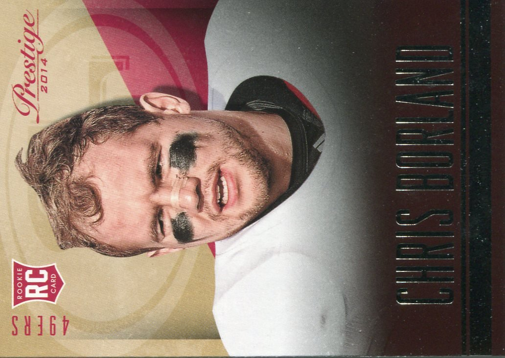 2014 Prestige Football Card #220 Chris Borland