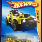 2010 Hot Wheels #21 Sting Rod II YELLOW