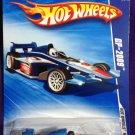 2009 Hot Wheels #69 GP-2009 BLUE