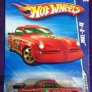 2009 Hot Wheels #165 At-A-Tude RED