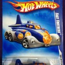 2009 Hot Wheels #102 Fast Fortress BLUE