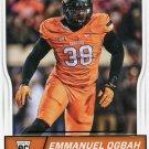 2016 Score Football Card #400 Emmanuel Ogbah