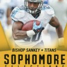 2015 Score Football Card Sophomore Selections Gold #4 Bishop Shankey