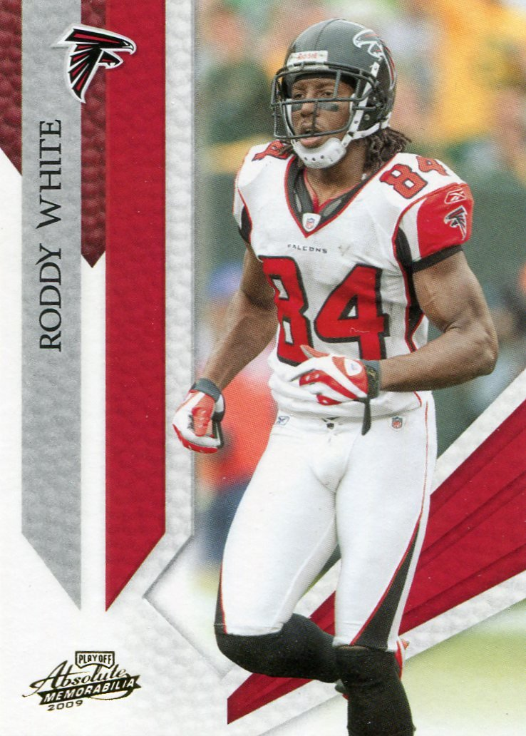 2009 Absolute Football Card #6 Roddy White