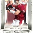 2009 Playoff Prestige Football Card #1 Kurt Warner