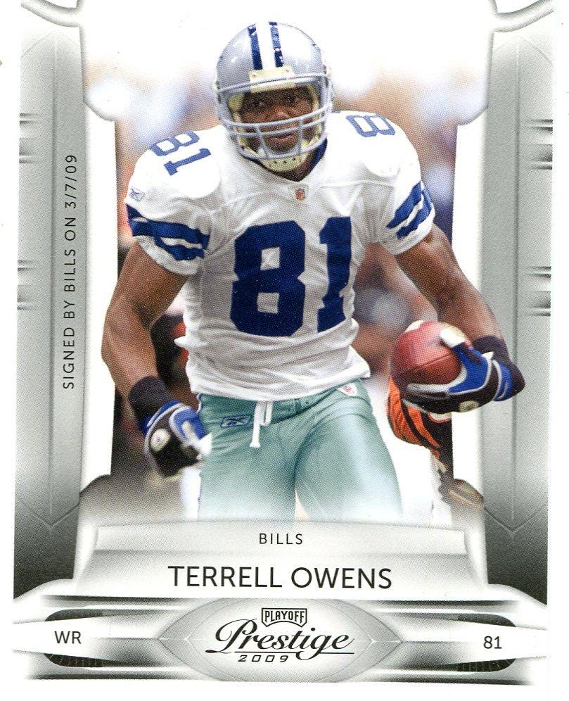 2009 Playoff Prestige Football Card #28 Terrell Owens