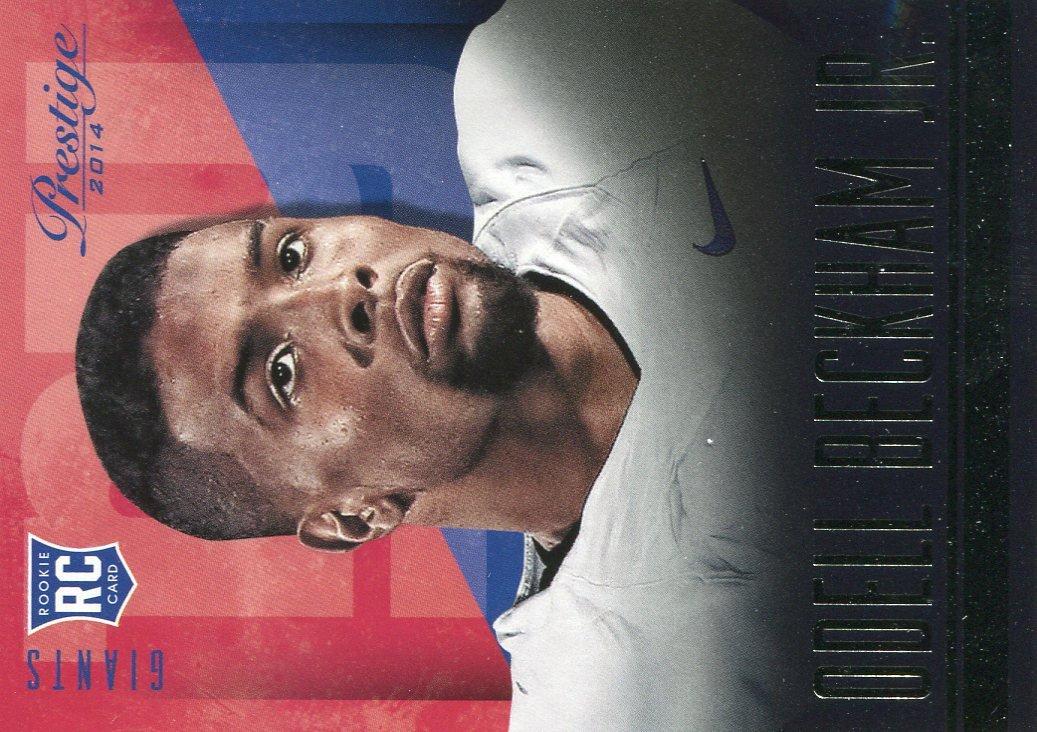 2014 Prestige Football Card #275 Odell Beckham Jr