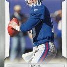 2009 Playoff Prestige Football Card #63 Eli Manning
