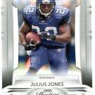 2009 Playoff Prestige Football Card #87 Julius Jones