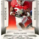 2009 Playoff Prestige Football Card #139 Glen Coffee