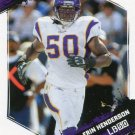 2009 Score Football Card #165 Erin Henderson