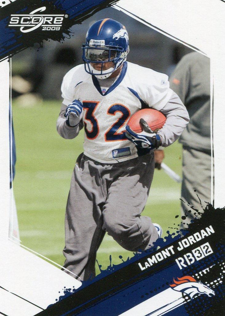 2009 Score Football Card #174 Lamont Jordan