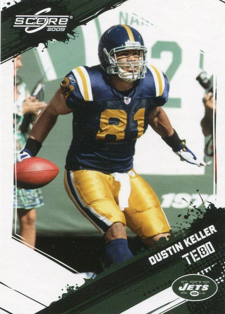 2009 Score Football Card #203 Dustin Keller