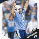 2009 Score Football Card #288 Rob Bironas