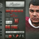 2014 Prestige Football Card Big Board #5 Mike Evans