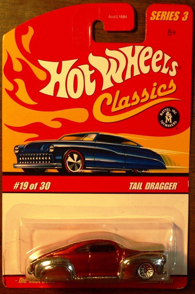 2007 Hot Wheels Classic Series 3 #19 Tail Dragger
