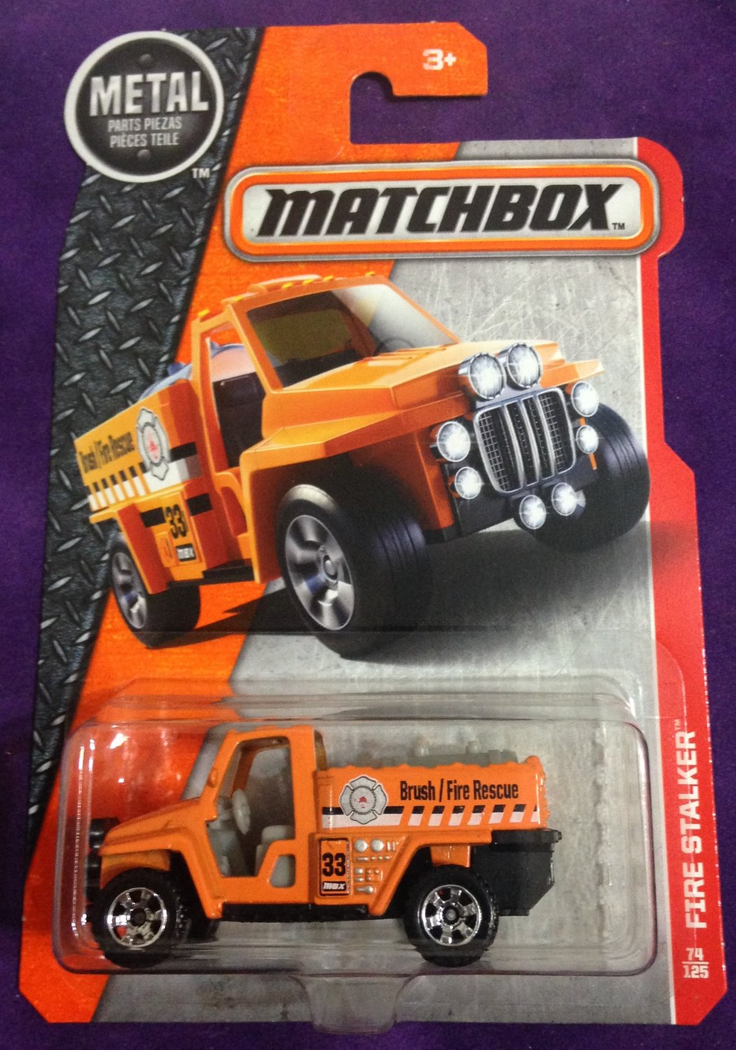 2017 Matchbox #74 Firestalker