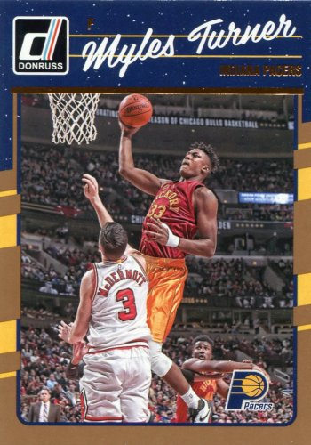 2016 Donruss Basketball Card #92 Myles Turner