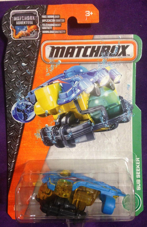 2017 Matchbox #90 Sub Seeker