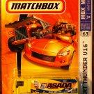 2007 Matchbox #63 Desert Thunder V16