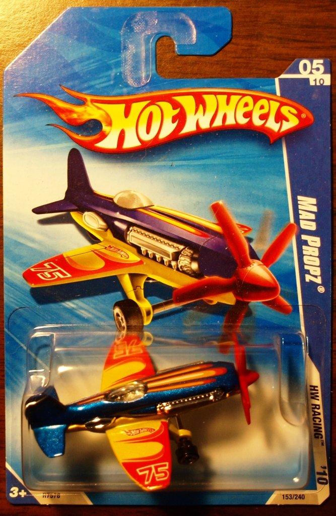 2010 Hot Wheels #153 Mad Propz