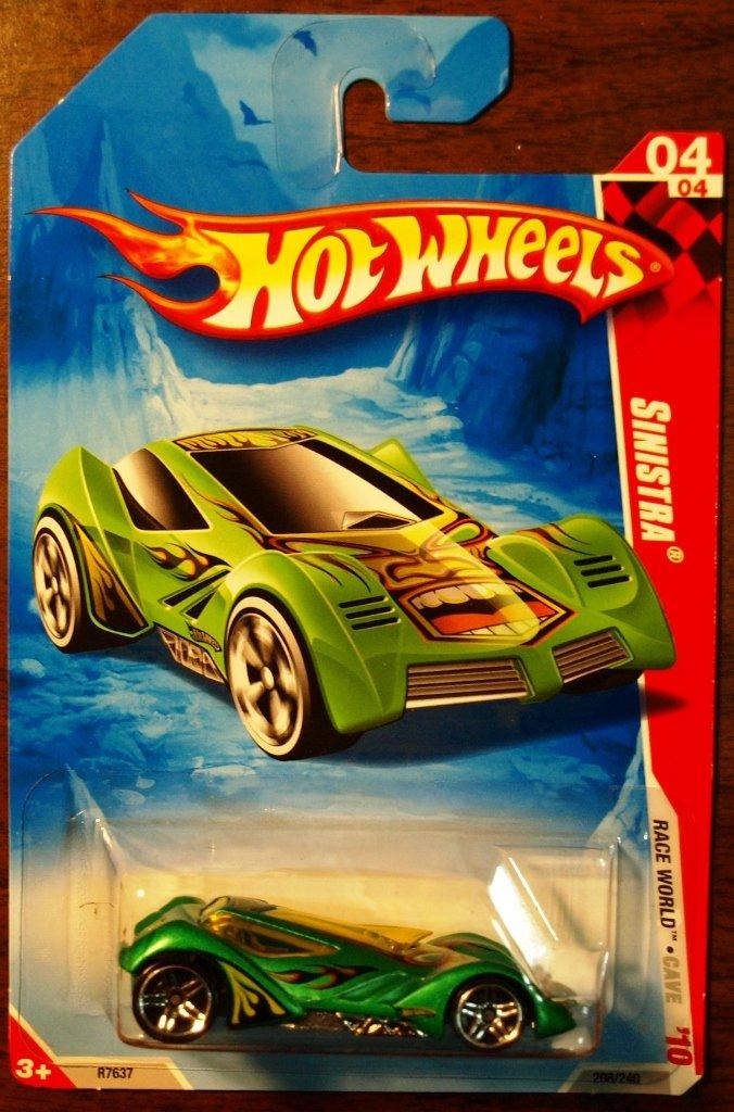 2010 Hot Wheels #208 Sinistra