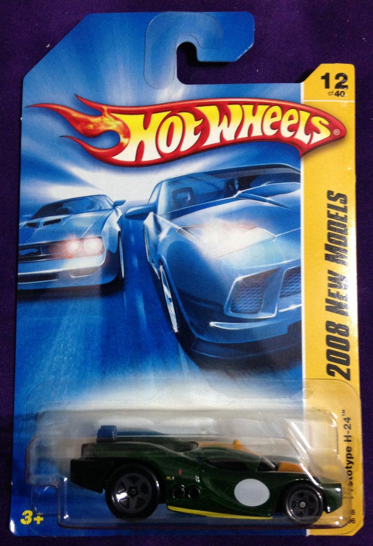 2008 Hot Wheels #12 Prototype H24 GREEN