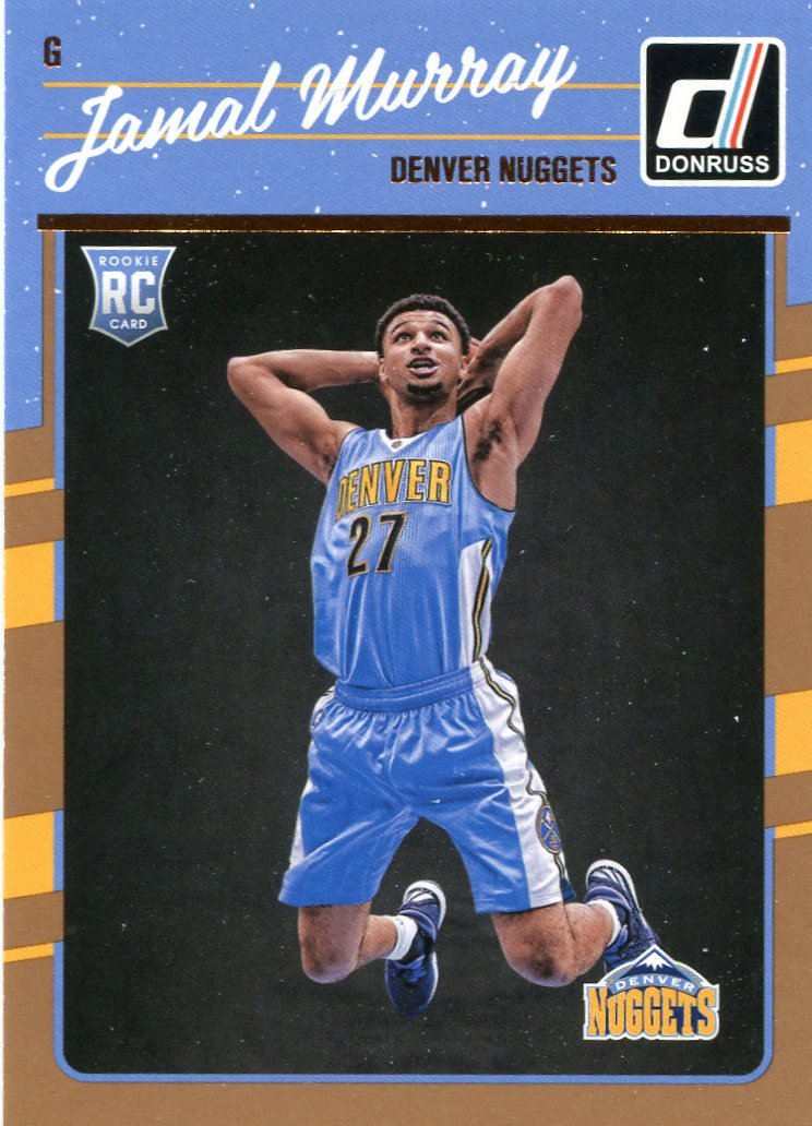 2016 Donruss Basketball Card #157 Jamal Murray