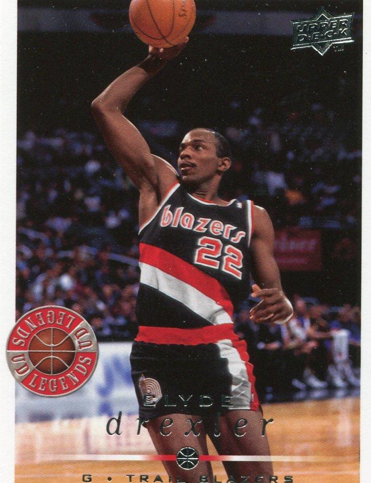 2008 Upper Deck Basketball Card #218 Clyde Drexler