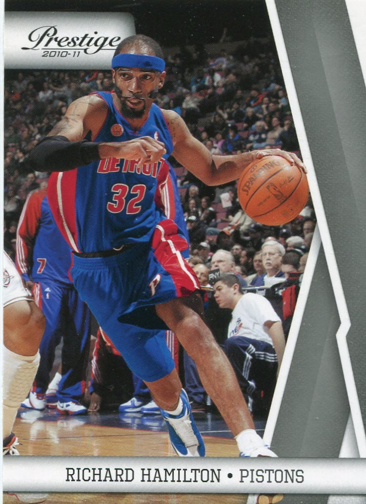 2010 Prestige Basketball Card #30 Richard Hamilton