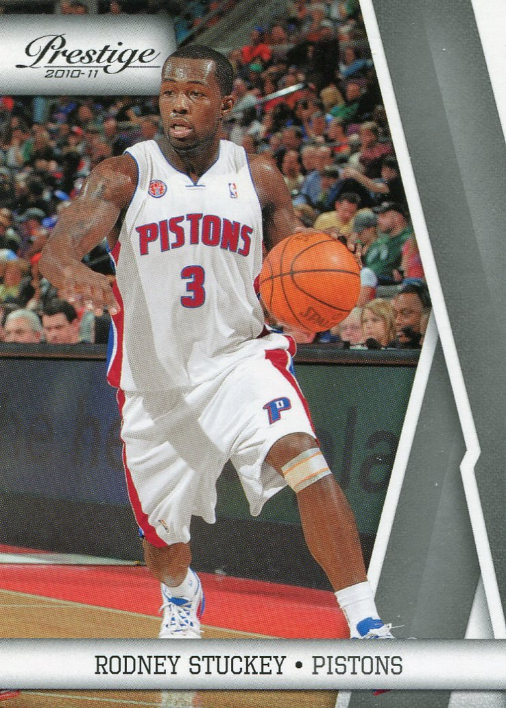 2010 Prestige Basketball Card #31 Rodney Stuckey
