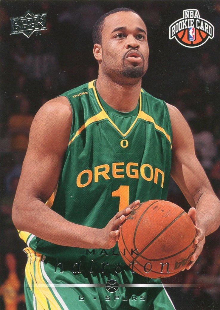 2008 Upper Deck Basketball Card #255 Malik Hairston