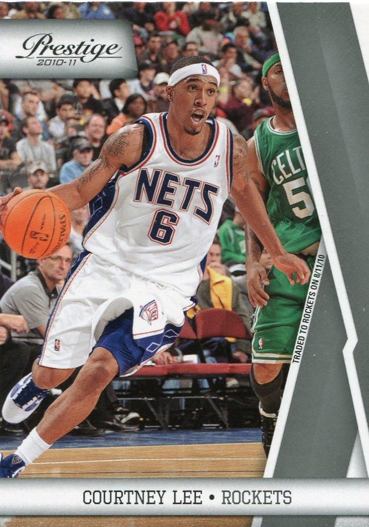 2010 Prestige Basketball Card #70 Courtney Lee