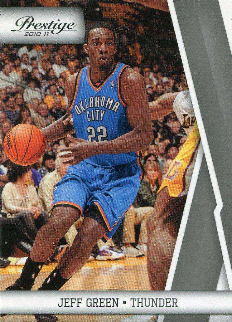 2010 Prestige Basketball Card #82 Jeff Green
