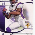 2009 SP Signature Football Card #12 Bernard Berrain