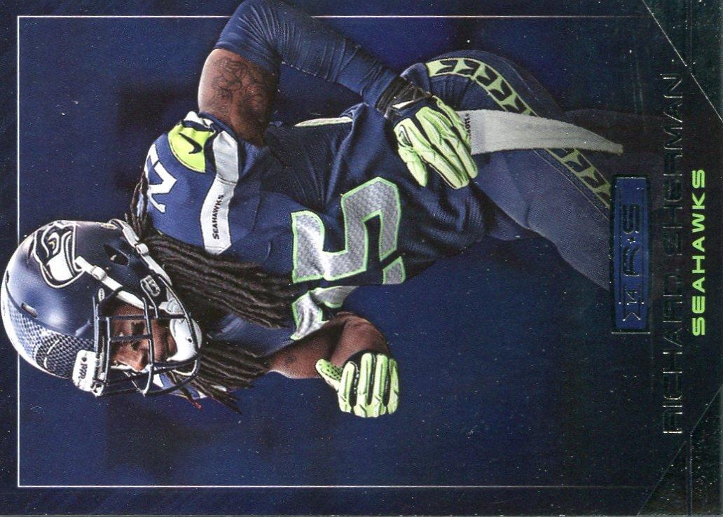 2014 Rookies & Stars Football Card #100 Richard Sherman
