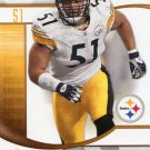 2009 SP Signature Football Card #55 James Farrior