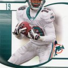 2009 SP Signature Football Card #65 Ted Ginn Jr
