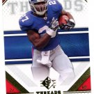 2009 SP Threads Football Card #10 Brandon Jacobs