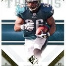 2009 SP Threads Football Card #14 Brian Westbrook