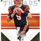 2009 SP Threads Football Card #16 Carson Palmer