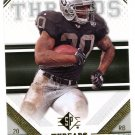 2009 SP Threads Football Card #23 Darren McFadden