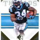 2009 SP Threads Football Card #26 DeAngelo Williams